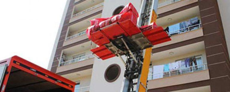 Asansörlü Eşya Taşıma Hizmeti